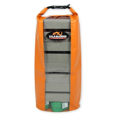 Image of Salamander Paddle Gear Canoe Kit Non Skid Tall Rooftop Carrier with Dry Bag (CKNST)