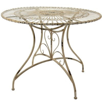 Dining Table Finish: Distressed White
