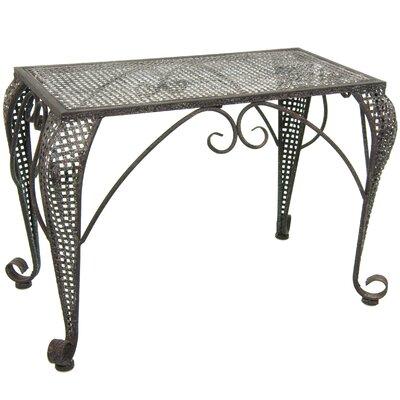 Wrought Iron Garden Table
