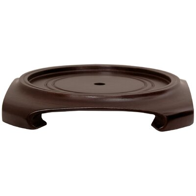 """Oriental Furniture Vase Stand in Rosewood-5.5"""""""" ST-SQ801-5_5"""