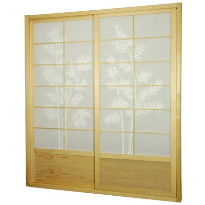 Buy Low Price Oriental Furniture Bamboo Tree Shoji Sliding Door Kit