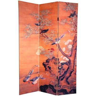 Oriental Furniture 6Feet Tall Double Sided Chinese Landscapes Canvas Room Divider at Sears.com
