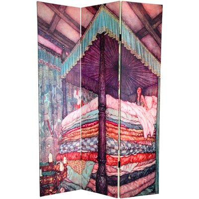 6 Feet Tall Double Sided Princess Fairy Tale Room Divider