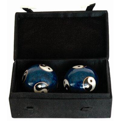 2 Piece Bagua Health Decorative Ball Sculpture Set CS-21282