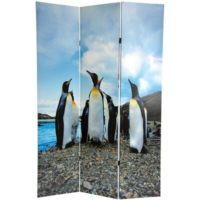 6 Feet Tall Penguin Double Sided Room Divider