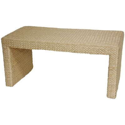 Oriental Furniture Rush Grass Coffee Table - Finish: Natural at Sears.com