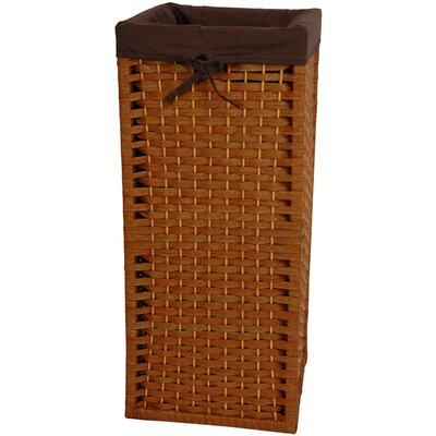 Laundry Hamper Finish: Honey