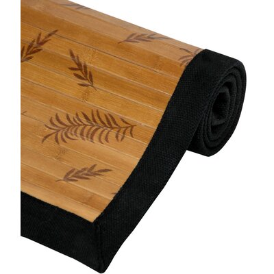 Little Leaf Bamboo Rug Rug Size: 4 x 6