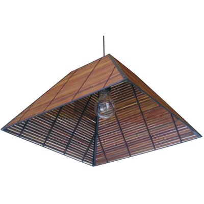 Yamanote Japanese 1-Light Hanging Lantern