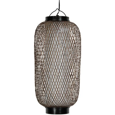 Japanese 1-Light Hanging Lantern