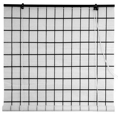 Christofor Shoji Rice Paper Roller Blind Size: 24 W x 72 L