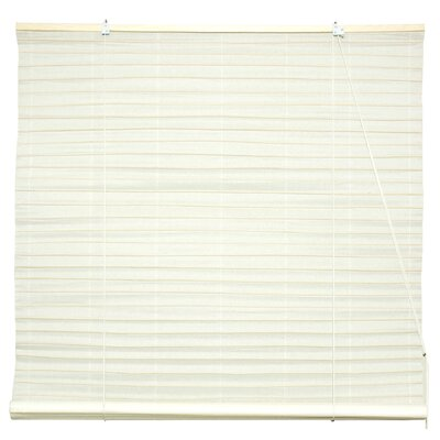 Shoji Room Darkening Roll-Up Shade Size: 48 W x 72 L, Color: Light White