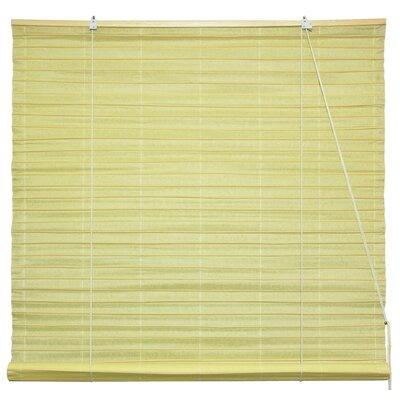 Shoji Paper Roller Blind Size: 36 W x 72 L, Color: Light Yellow