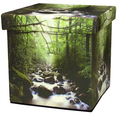 River of Life Storage Ottoman