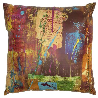 India by Gita Throw Pillow