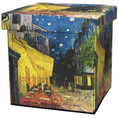 Van Gogh Cafe at Night Storage Ottoman