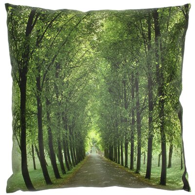 Path of Life Throw Pillow