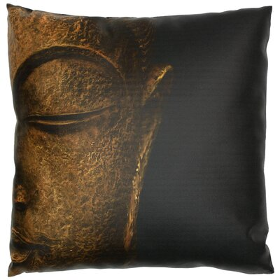 Serene Buddha Throw Pillow