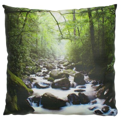 River of LifeThrow Pillow