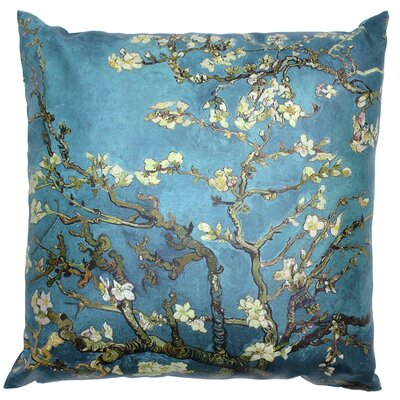 Van Gogh Almond Blossoms Throw Pillow