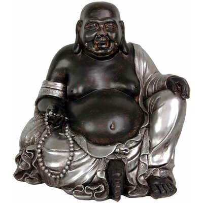 Sitting Happy Buddha Figurine