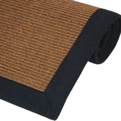 Sisal Walnut Rug Rug Size: 5 x 8