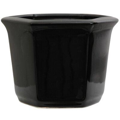 Chinese Porcelain Pot Planter BW-FLOWER-BLK