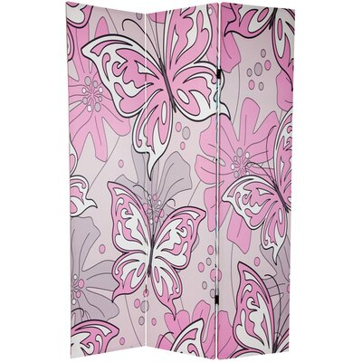 Oriental Furniture Tall Vines and Flowers Beaded Room Divider ...