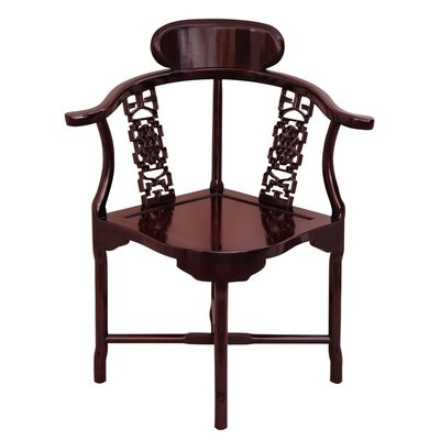 Corner Armchair Finish: Rosewood