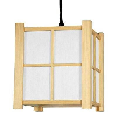 Japanese 1-Light Mini Pendant