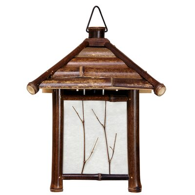 Pagoda 1-Light Mini Pendant Finish: Dark