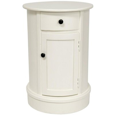Furniture leasing Classic 1 Drawer Nightstand Finish:...