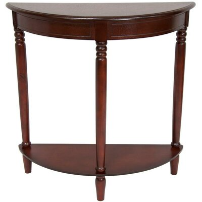 Cheap Oriental Furniture Half Round Console Table in Cherry (OFN3568)