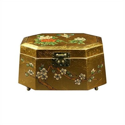 Antoinette Asian Jewelry Box LCQ-327-GB
