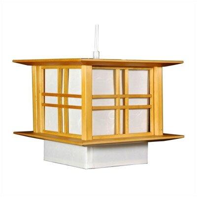 Akida 1-Light Lantern Pendant Color: Honey