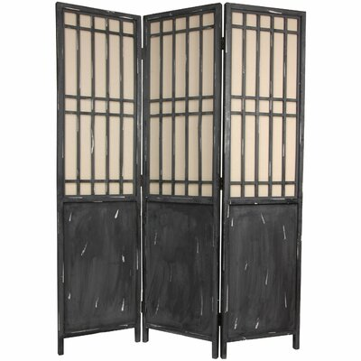 Oriental Furniture Colorful New York Scene Room Divider | Wayfair