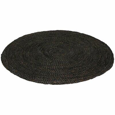 Black Area Rug Rug Size: 3