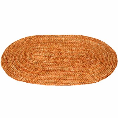 Maize Honey Oval Area Rug Rug Size: Oval 1'6