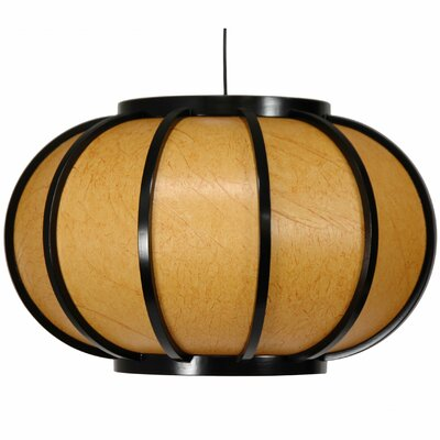 Harajuku Hanging Lantern Finish: Black