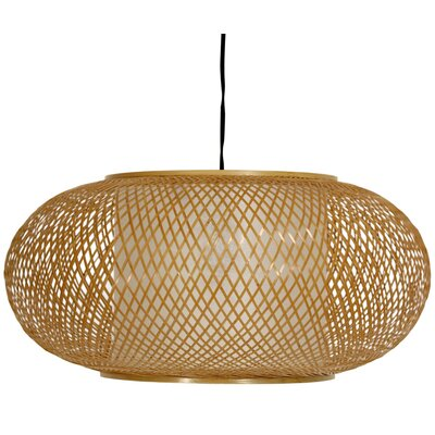 Kata Japanese 1-Light Hanging Lantern