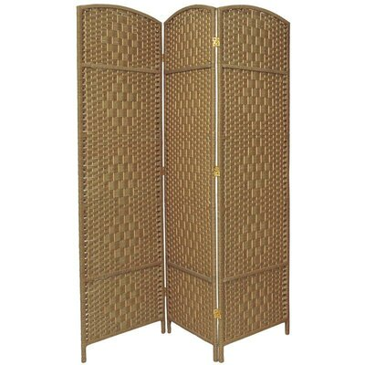 Oriental Furniture Wooden Shutter Room Divider in White | Wayfair