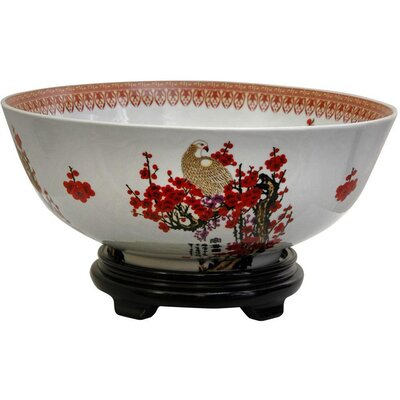 Fruit Bowl with Cherry Blossom Design BW-BOWL-CBLOS