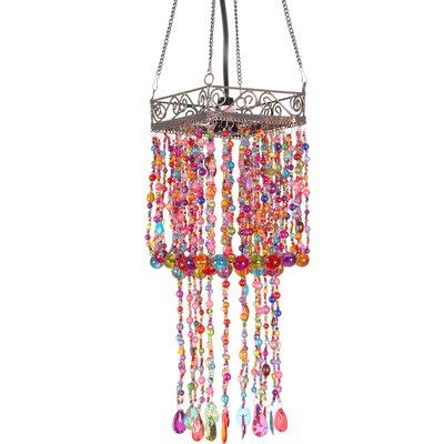 Draped Beads Hanging Lantern