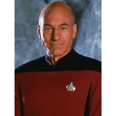 Star Trek Captain Jean-Luc Picard Photographic Print on Canvas CAN-ART-CST-12