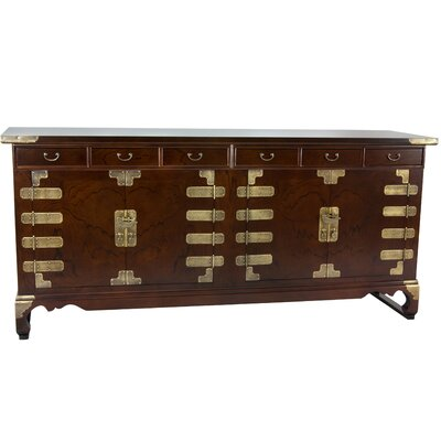 Korean Double Cabinet Sideboard