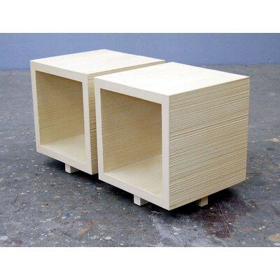 Cheap Jeb Jones Cube Table Color: Salem Red (JEB1001_6366822)