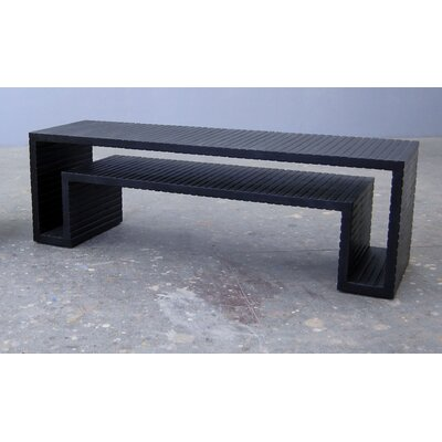 Open Form Coffee Table Finish: Pitch Black