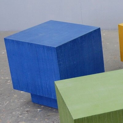 Coffee Table Size: 34, Finish: Federal Blue