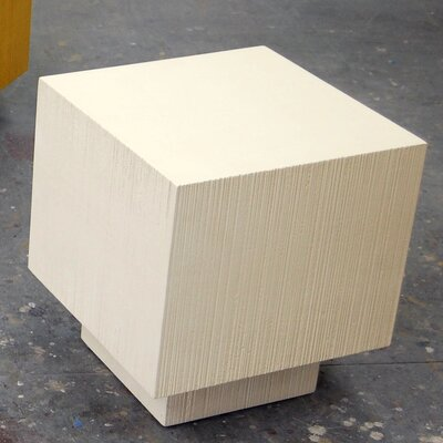 Coffee Table Size: 34, Finish: Buttermilk White