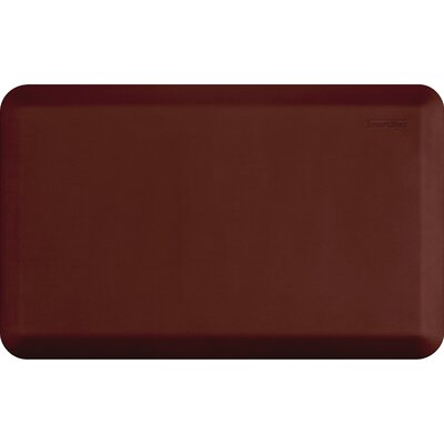 Kadalynn Kitchen Mat Mat Size: Rectangle 32 x 20, Color: Burgundy